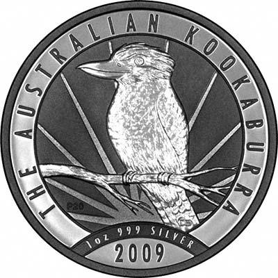 2009australia1dollaroneouncekookaburraorev400